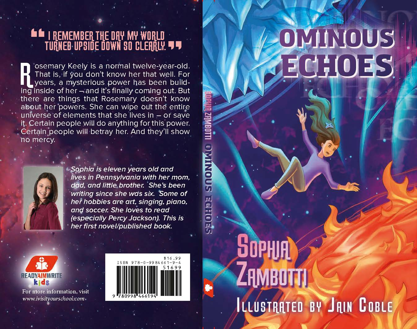 Ominous Echoes finished cover