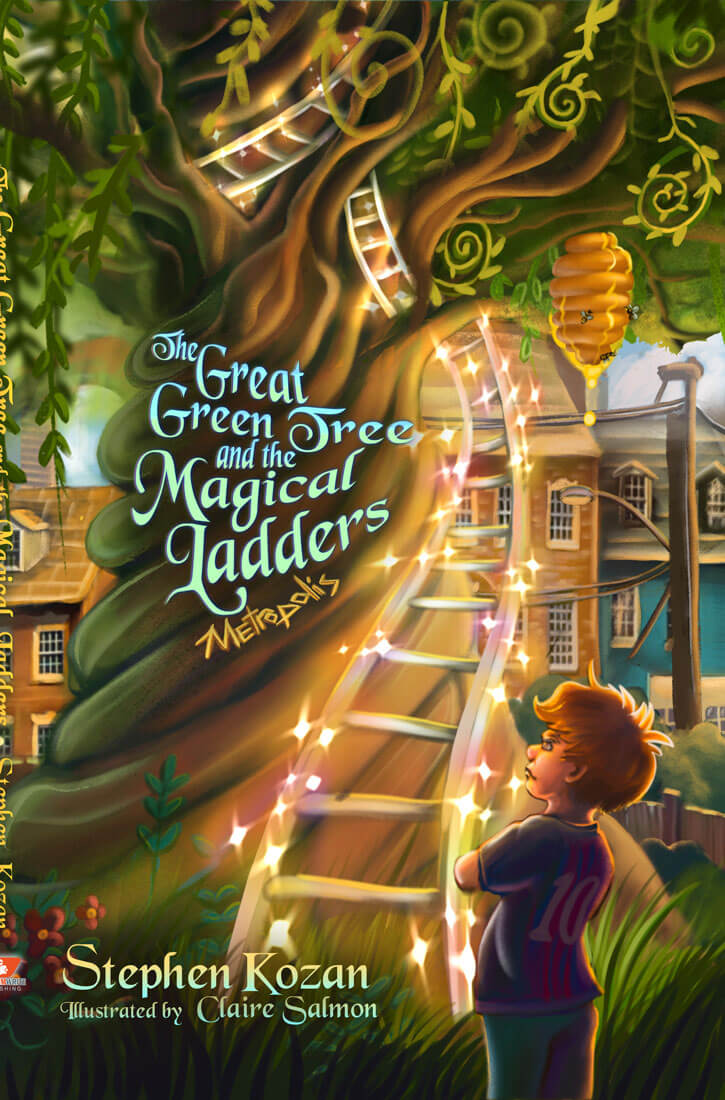 The Great Green Tree and the Magical Ladders Metropolis